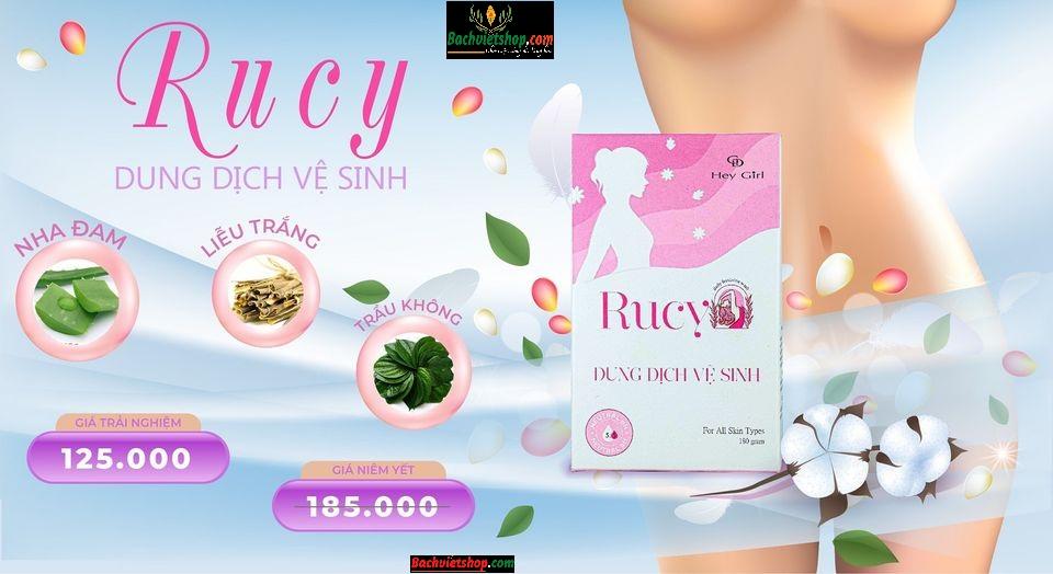 Đối tượng và cách sử dụng dung dịch vệ sinh Rucy
