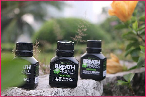 nguồn gốc của viên uống thơm miệng breath pearls
