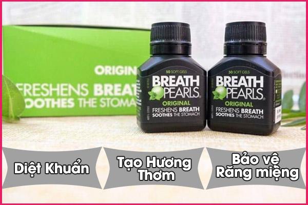 Cơ chế hoạt động của viên uống Breath pearls