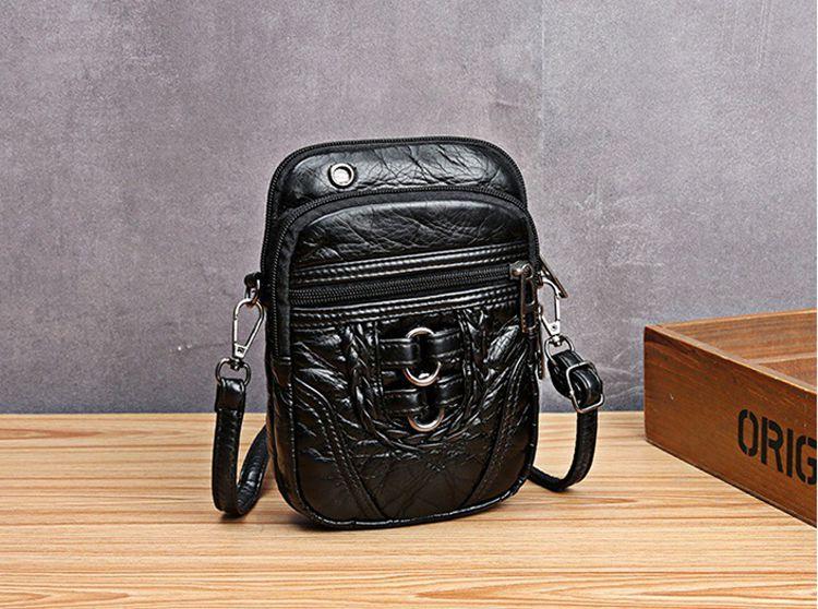 Túi đeo chéo phối khóa nhiều ngăn 3