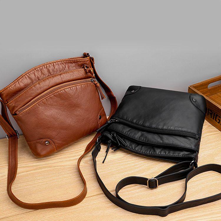 Túi đeo da mềm basic px013 hàng nhập 1