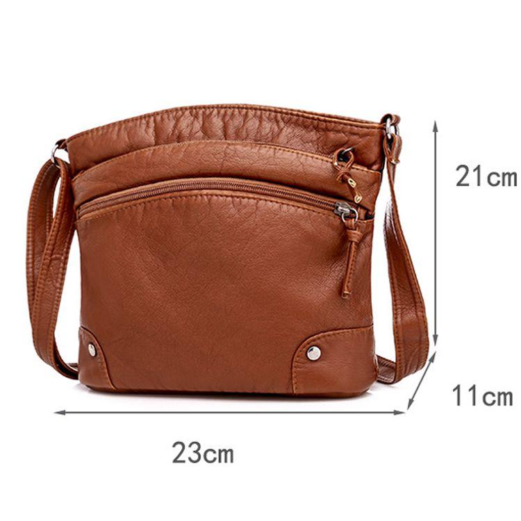 Túi đeo da mềm basic px013 hàng nhập 2