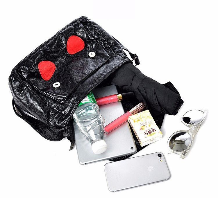 Túi xách da mềm họa tiết hàng nhập cao cấp 2
