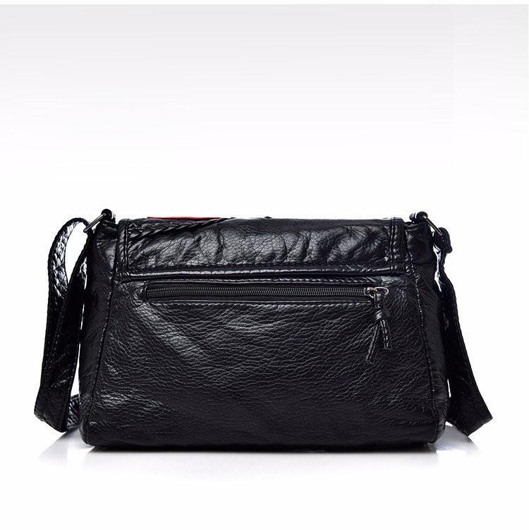 Túi xách da mềm họa tiết hàng nhập cao cấp 4