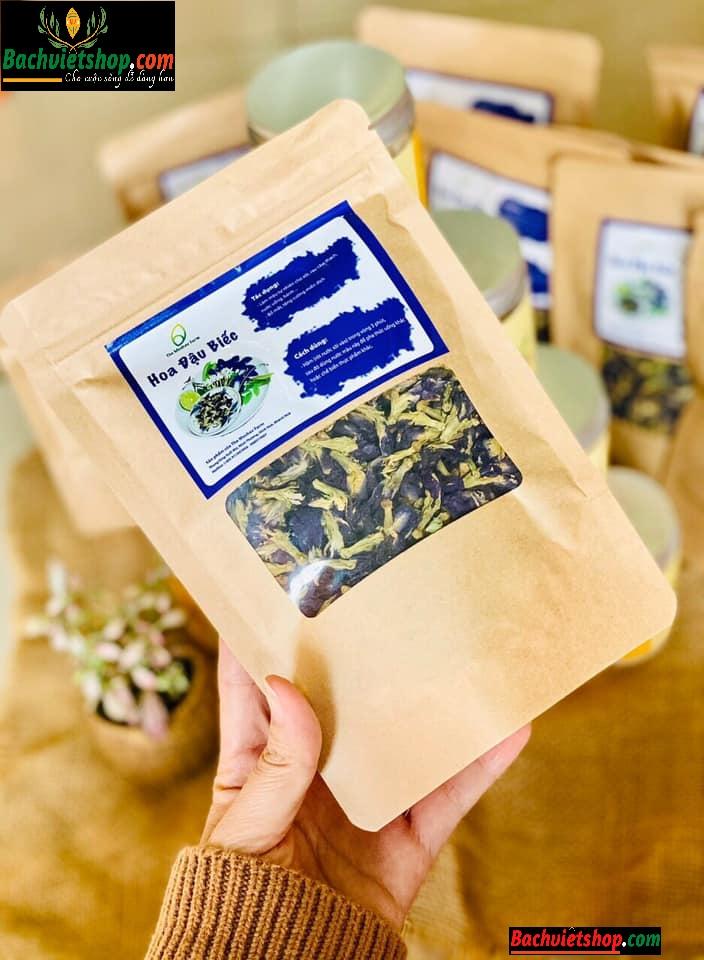 Lưu ý khi sử dụng trà hoa đậu biếc sấy lạnh