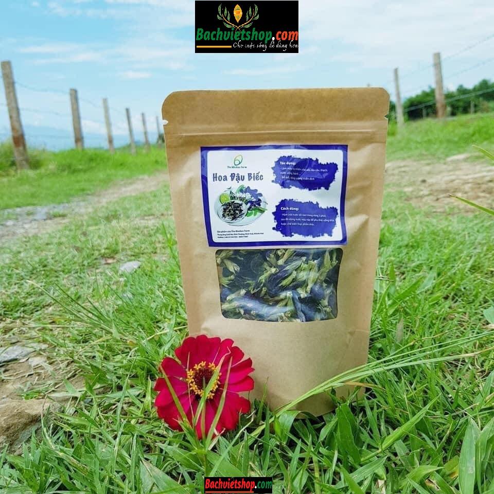 Hướng dẫn bảo quản trà hoa biếc sấy lạnh