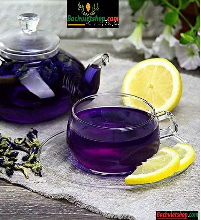 trà hoa đậu biếc sấy lạnh hữu cơ
