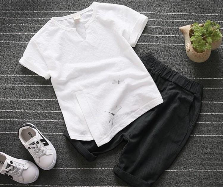 Sét bộ đồ in họa tiết chuồn chuồn cho bé 5