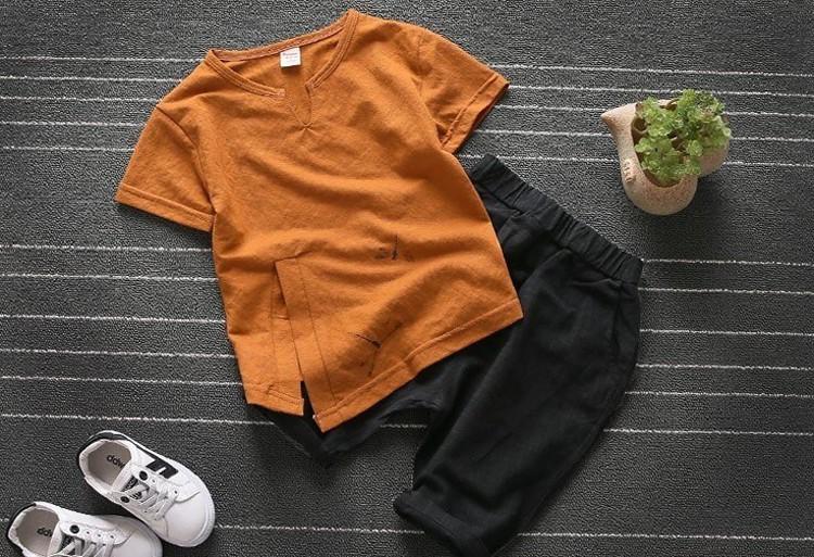 Sét bộ đồ in họa tiết chuồn chuồn cho bé 4