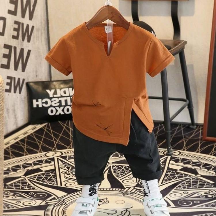 Sét bộ đồ in họa tiết chuồn chuồn cho bé 1