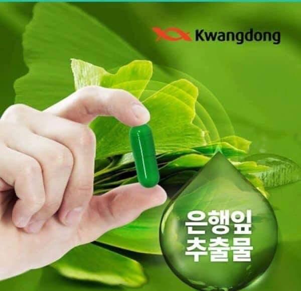 Viên uống bổ não Kwangdong Hàn Quốc 1