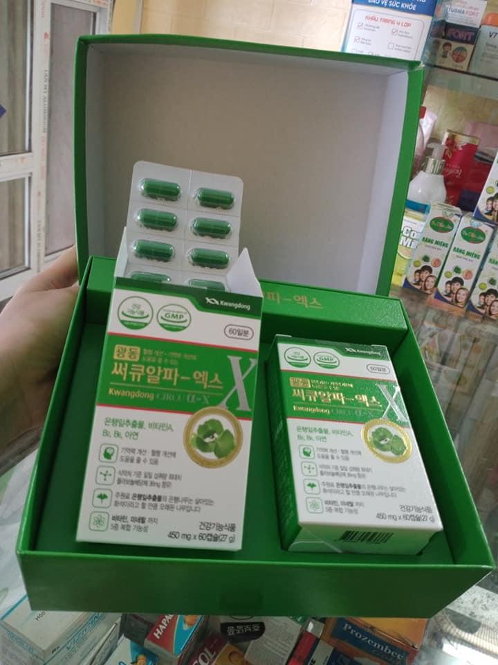 Viên uống bổ não Kwangdong Hàn Quốc 5