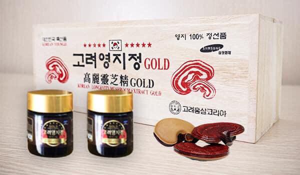 Cao linh chi đỏ núi hộp gỗ 360g của Hàn Quốc là gì?