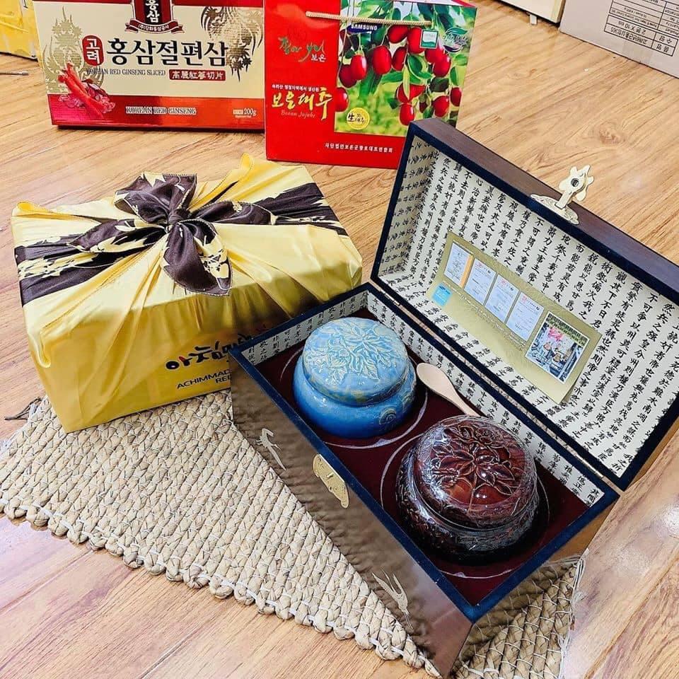 Cao Sâm Hoàng Đế Hoàng Hậu HÀN QUỐC 2 Hộp x 500g 1
