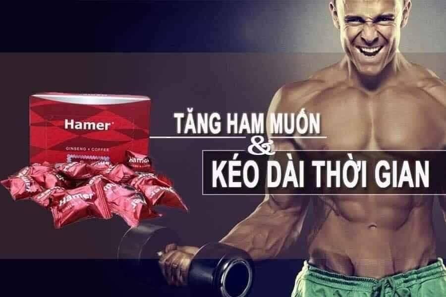 Giới thiệu Kẹo Sâm Hamer Malaysia
